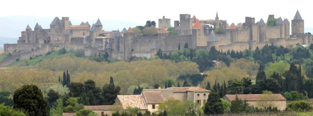 Carcassonne, a World Heritage Site, an hour's drive