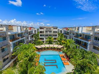 (SABBIA B107) BIG 3BEDROOMS APARTMENT, Playa del Carmen