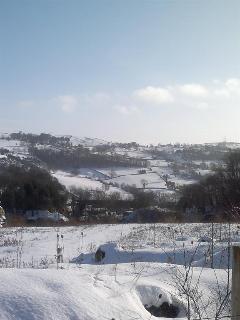 The hamlet in snow
