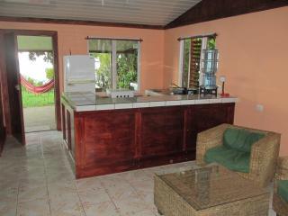 Open concept kitchen. Save money on restaurants.