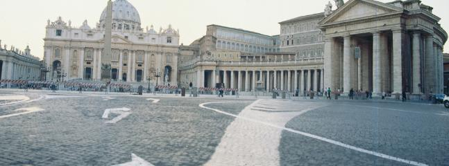 San Peter Square, just few steps away,prime location!