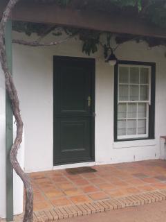 Exterior entrance
