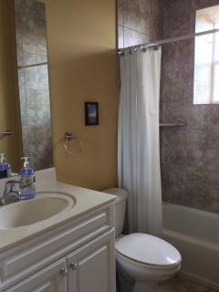 Hall Bath in-between BR #2 & BR #3
