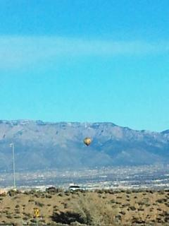 THIS BALLOON UP ON CHRISTMAS EVE AFTERNOON 2014