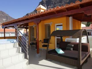 Moderno, con una gran terraza, WIFI, sofá exterior, Valle Gran Rey