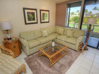 Ocean View 2-Bedroom Condo Overlooking Golf Course, Wailea