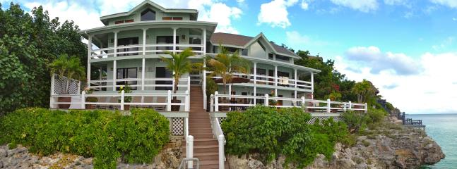 Sunset Point Oceanfront Villa is the perfect vacation rental for your family or small group!