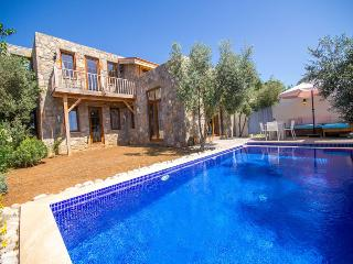 Modern stone built home with a great privacy, Fethiye