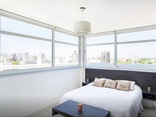 Vista panorámica dormitorio