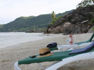 Beachfront Villa on 1 of Seychelles' best beaches, Mahe Island
