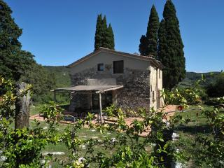 Rustic Tuscan country house in the Florentine hills boasts breathtaking views, sleeps 6, Florencia