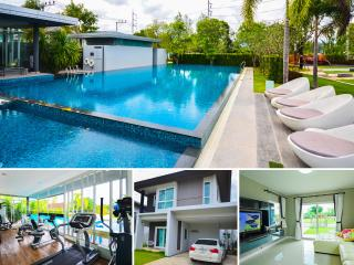 3 Bedroom Shared Swimming Pool, Koh Kaew