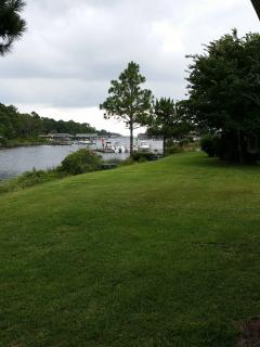 Back patio view of Grand Lagoon