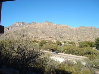 Come for the comfort, stay for the sweeping view of the Catalina Mountains