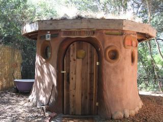 Grass-Roofed Hobbit Hut