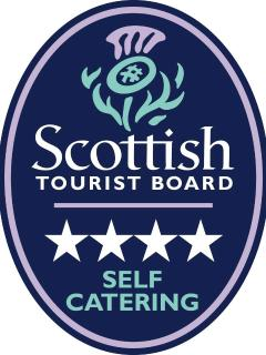 The Scottish Tourist Board 4 Star rating award reflects the quality and standard of the accommodatio