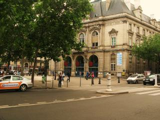 IN A LITTLE PRIVATE STREET near Bastille & Marais