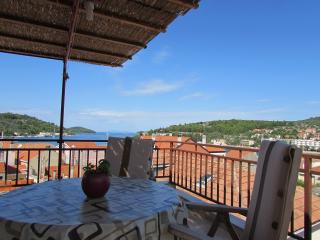 Apartment sea view terrase, Vela Luka