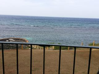 sea view from apartment