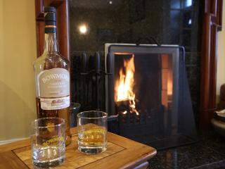 Dundonald.  Bowmore Whisky by the Fire