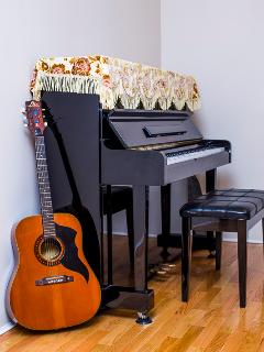 A Piano and Guitar Duet