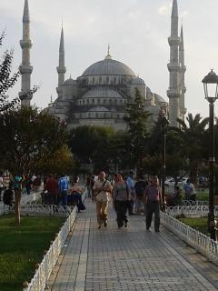 The inspiring Blue Mosque in Istanbul (just an hours flight from Dalaman)
