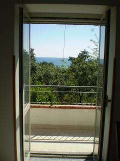 chambre vue sur la mer