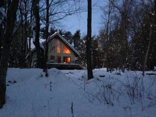 New Timberframe House Rental in the Berkshire Mountains, Masschusetts, Hinsdale
