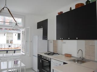 Cental topfloor apartment 50m from Danube river AC