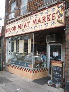 Bloor Meat Market - old school butchers - AMAZING!