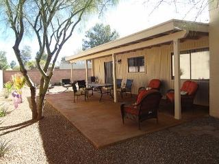 4-Bedroom House, 2.5 Baths, Sleeps 8. This ranch home is newly updated.