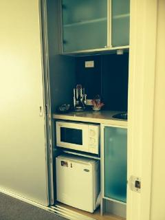 Wytonia Beachfront Studio Kitchenette (no hotplate)