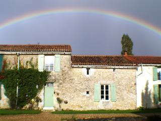 Rose cottage over the rainbow!