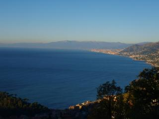 Sea view penthouse, Camogli