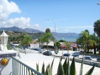 Burriana beach front line holiday apartment, Nerja