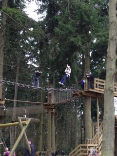 'Go Ape' at High Lodge in Thetford Forest is less than half an hour away