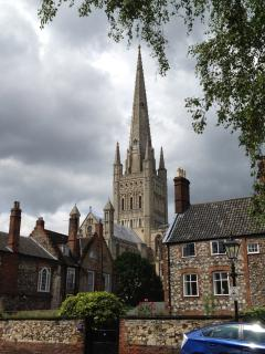 Norwich is just 30 mins drive with great shopping, eating, theatres and lots of history.