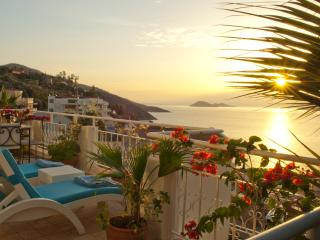 Make yourself comfortable on Manzarali balcony and admire the most beautiful sunset views in Kalkan