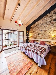 Dormitorio de la Casa Pepo