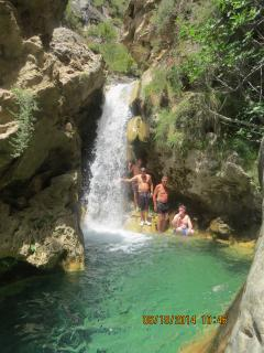 Excursions offered, waterfalls and turqoise rockpools, a hidden gem