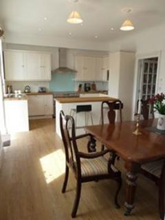 Modern, fully fitted kitchen.