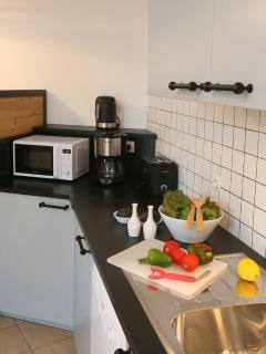 Votre cuisine entièrement équipée
