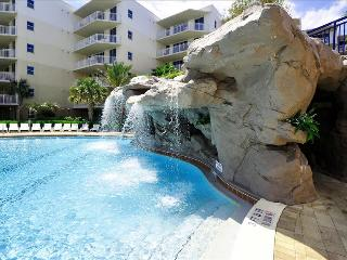 """Waterscape C604"" Water Wonderland/Lazy River/Waterfalls!! Courtyard and Gulf Views!!, Fort Walton Beach"