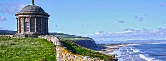 Mussenden Temple & Downhill Beach