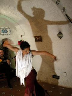 Espectáculos flamencos en el Albaycín