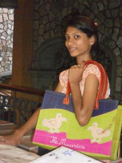 Shopping in the main capital Port Louis