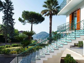 Villa San Pietro garden,pool,terraces and sea view