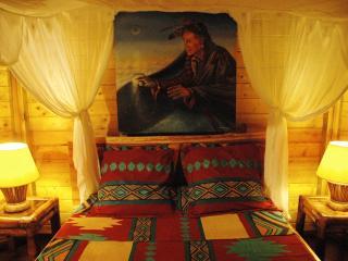 chambre d'inspiration amérindienne