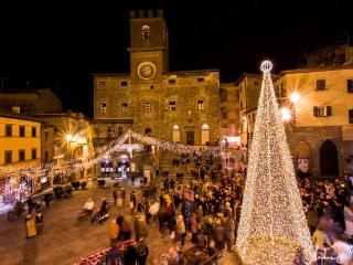 Holiday Season in Cortona