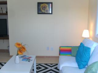 Tropical Sunflower Living Room